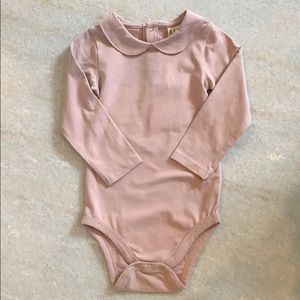 NWT - Gray Label Collared Bodysuit - size: 12-18m